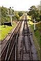NZ8301 : Railway line to Pickering by Steve Daniels