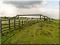 SD7631 : Footbridge over the M65 Motorway by David Dixon
