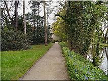 SD4615 : Rufford Old Hall Gardens by David Dixon