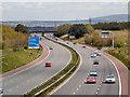 SD7631 : M65 Near Huncoat by David Dixon