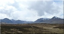 NN3049 : Highland hills near Lochan na Stainge by kim traynor