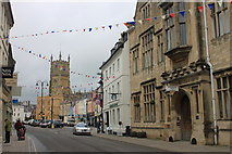 SP0202 : Bingham House and Gallery in central Cirencester by Roger Davies