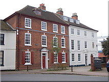 SK5319 : Houses - Rectory Place by Betty Longbottom