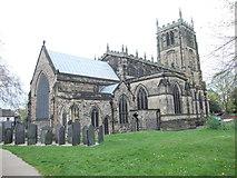 SK5319 : All Saints Parish Church by Betty Longbottom