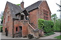 SO8698 : Red Brick building in the grounds of Wightwick Manor by Mick Malpass