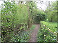 SK7061 : The footpath from Eakring entering Maplebeck by Jonathan Thacker