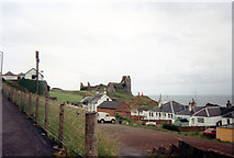 NS2515 : Dunure Castle by Jo Turner