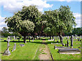 TQ2772 : Path, Streatham Cemetery by Robin Webster