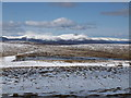 NO3376 : Lochnagar looms over the plateau between Glen Clova and Glen Esk by Alan O'Dowd