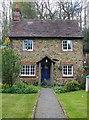 TQ1146 : Cottage in Hollow Lane, Wotton (2) by Stefan Czapski