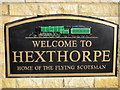 SE5602 : Welcome to Hexthorpe, home of the Flying Scotsman by Ian S