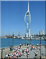 SZ6299 : Portsmouth, Not a Bad View From a Pub Window by Roy Hughes