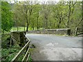 SE0422 : Railway bridge on Stansfield Mill Lane, Norland by Humphrey Bolton