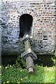 SO3285 : Brockton Watermill - the wheel shaft by Chris Allen