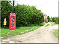 TL7143 : Old Telephone Box by Keith Evans