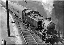 TQ2282 : Empty stock train for Paddington leaving Old Oak Common Yard by Ben Brooksbank