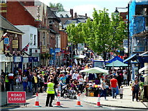 SO6024 : Ross-on-Wye's May Fayre 2012 by Jonathan Billinger