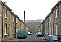 SE1337 : View across the Aire valley along Fanny Street by Pauline E