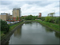 TM1543 : River Gipping, Ipswich by JThomas