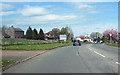 NY5423 : A6 north entering Hackthorpe by John Firth