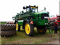 TL6450 : John Deere crop sprayer by Michael Trolove