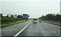 NS4469 : M8 at Erskine bridge junction 30 by John Firth