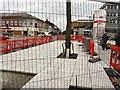 SJ9494 : Flagstones on Market Street by Gerald England