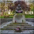 TQ2982 : Statue of Mahatma Gandi in Tavistock Square Gardens by David Dixon