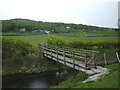 SD4287 : Footbridge over the River Winster near Swallow Mire by Karl and Ali