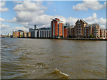 TQ3778 : Riverside Apartments, Isle of Dogs by David Dixon