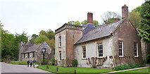 ST7734 : The Spread Eagle Inn, Stourton by Len Williams