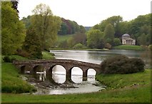 ST7733 : The Palladian Bridge and Pantheon by Len Williams
