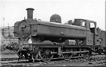 TQ2182 : Typical member of the indigenous GW 0-6-0PT in Old Oak Common Locomotive Yard by Ben Brooksbank