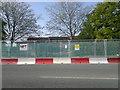SJ8089 : Metrolink works, Baguley by Steven Haslington