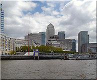 TQ3680 : Canary Wharf by David Dixon