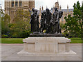 TQ3079 : The Burghers of Calais Outside The Palace of Westminster by David Dixon