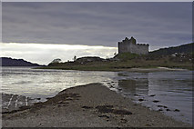 NM6672 : Castle Tioram - High Tide by Peter Moore