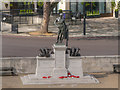 TQ2879 : Machine Gun Corps Memorial, Hyde Park Corner by David Dixon