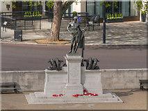 TQ2879 : Machine Gun Corps Memorial, Hyde Park Corner by David Dixon