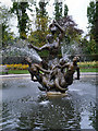 TQ2882 : Triton Fountain, Queen Mary's Gardens by David Dixon
