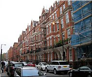 TQ2880 : Houses in Green Street Mayfair by PAUL FARMER