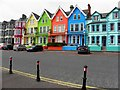 J4791 : Colourful houses, Whitehead by Kenneth  Allen
