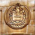 SD7628 : Accrington Magistrates' Court, Coat of Arms by David Dixon