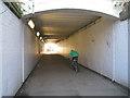 SP3165 : Subway, Leamington station by Robin Stott