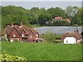 SU8147 : Landscape Around Crondall Lane by Colin Smith