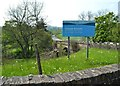SE2701 : Sign at entrance to Cheese Bottom waste treatment plant by Neil Theasby