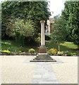 ST4365 : Yatton War Memorial Garden by Jaggery