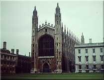 TL4458 : King's College Chapel, Cambridge by Colin Smith