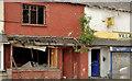J3272 : Derelict shops, Belfast (3) by Albert Bridge