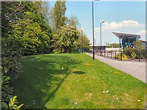 SJ9495 : Entrance to Hyde Bus Station by Gerald England